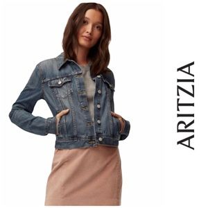 Aritzia Sunday Best Edo Denim Jean Jacket XXS